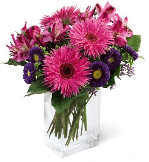 Fruit Flower Baskets Edmonton : Flower bouquet in vase at ollie s grower direct flowers