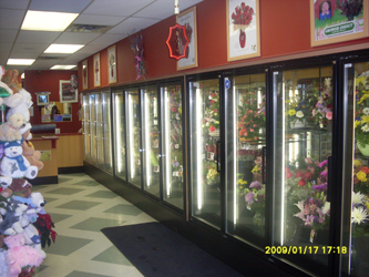 Our flower shop in Calgary Alberta Canada.